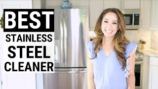 How To Clean Stainless Steel Appliances: Fingerprint & Streak Free Refrigerator!
