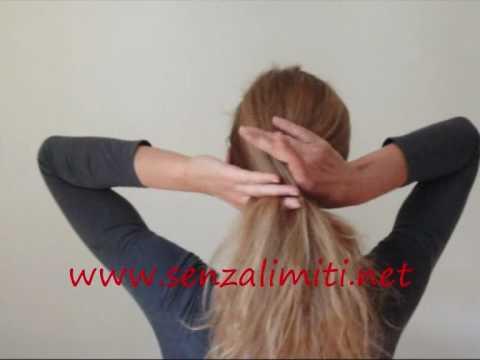 Hochsteckfrisur Banane Haarspange Haarforke Haarstab instructions french twist barrettes hairforks hairpin