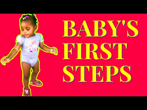 Baby's first steps