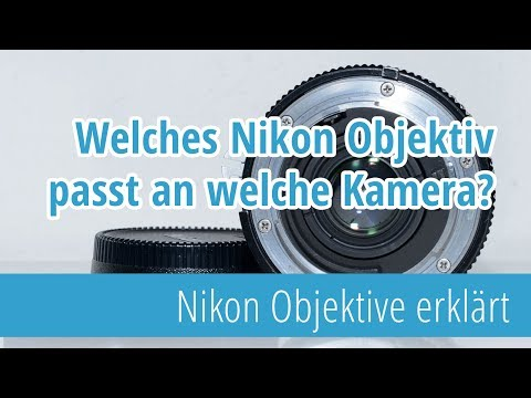 Welches Nikon Objektiv passt an welche Nikon Kamera?