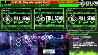 Full Send FPV Presents Live Tiny Whoop Racing in Denver CO