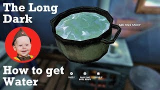 The Long Dark: How to Get Water (PS4 2018)