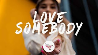 Lauv - Love Somebody (Lyrics)