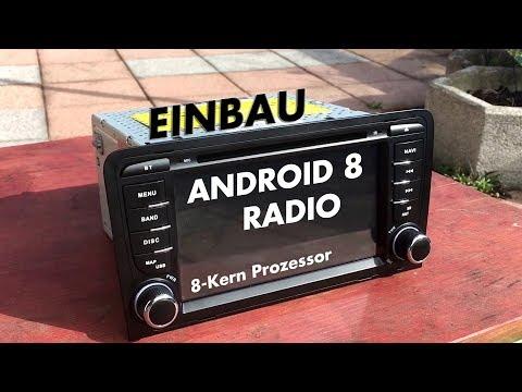 Android 8.0 Radio - Einbau im Audi A3 - Xtrons Octacore PX5