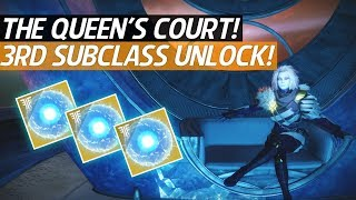 Destiny 2 Forsaken - How To Get To The Queen's Court & Obtain The 3rd Subclass (No Raid)!