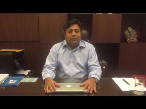 Message from Mr. Vikas Agarwal, MD, SM Developers on Alert Today Alive Tomorrow Campaign, Guwahati