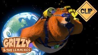 Grizzy & les Lemmings décollent dans l'espace - Grizzy & les Lemmings