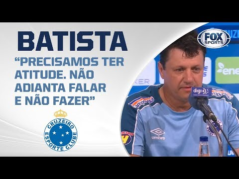 ADILSON BATISTA É APRESENTADO NO CRUZEIRO! A Raposa anunciou a demissão de Abel Braga