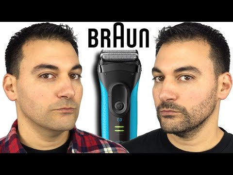 Beard Shaving – Braun Series 3 Proskin 3040s Foil Shaver vs Remington F5 5800 Electric Shaver