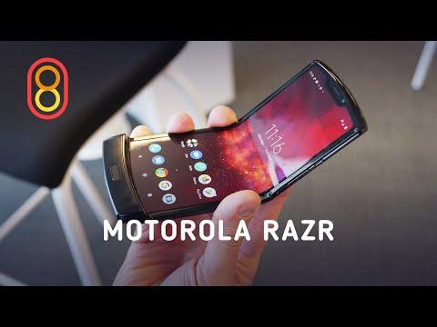 Гибкий Motorola RAZR — первый обзор видео