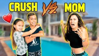 WHO KNOWS ME BETTER? My CRUSH Or My MOM! *Challenge* | The Royalty Family