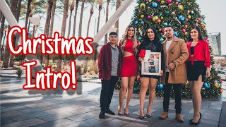 We Got Kicked Out Doing Our Christmas Intro!!! Vlogmas Day 1