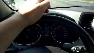 Hyundai Santa fe 2.2 diesel разгон