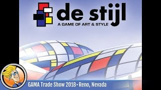 De Stijl — Game Preview At The 2018 GAMA Trade Show