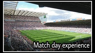 Match day experience   Newcastle United 0-2 Spurs