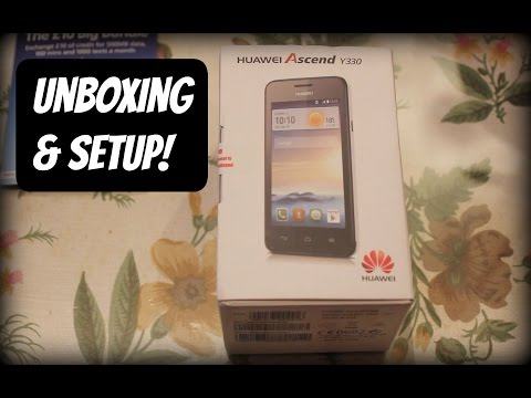 Huawei Ascend Y330 - Unboxing [HD]