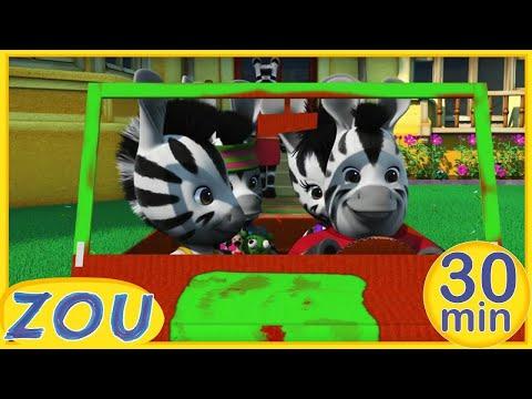 Zou en Français 🚗ZOU ET SA VOITURE !☀️ 30 min COMPILATION |Dessins animés pour enfants