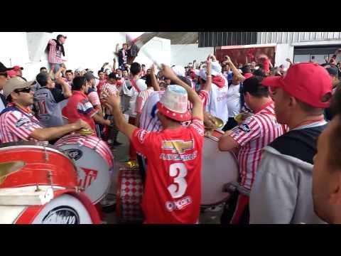 """""""Los Andes 0-2 Estudiantes. Copa Argentina. Somos de la Gloriosa banda del Milrayitas"""" Barra: La Banda Descontrolada • Club: Los Andes"""