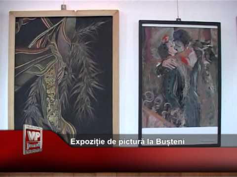 Expoziție de pictură și surprize la Bușteni