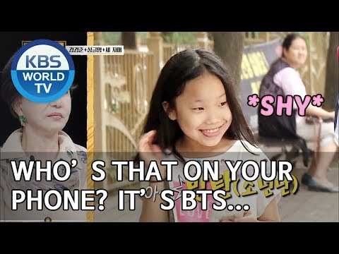 Who is that on your phone? It's BTS… [Trio's Childcare Challenge/ENG/2019.09.11]