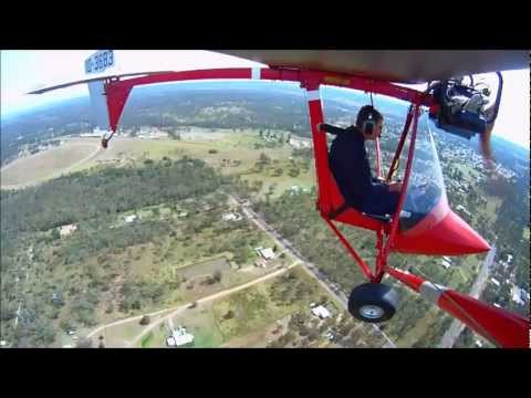 Flying the TYRO recreational (ultralight) aircraft