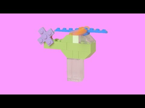 How To Build a LEGO Helicopter! EASY LEGO DIY Tutorial MOC