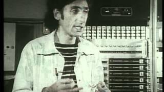 Franco Battiato parla di musica in un filmato del 1976