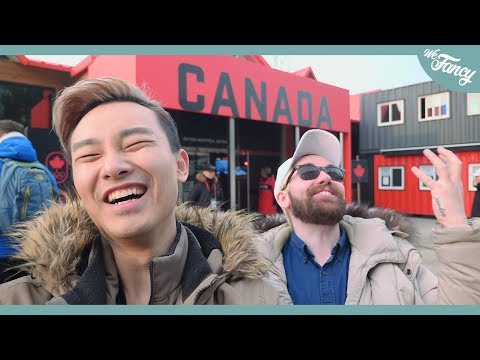 Pyeongchang Winter Olympics 2018 - CANADA HOUSE & Poutine