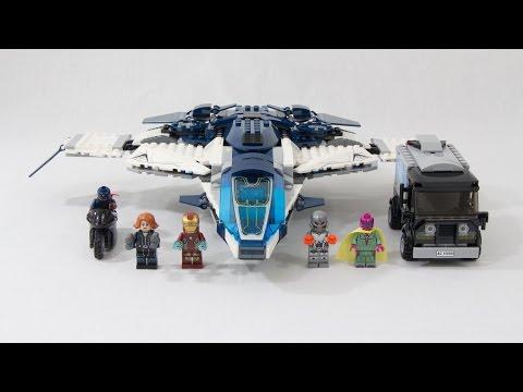 Vidéo LEGO Marvel Super Heroes 76032 : La poursuite en ville du Quinjet des Avengers