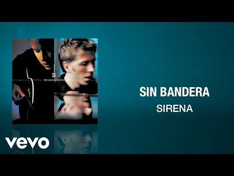 Sin Bandera - Sirena (Cover Audio)