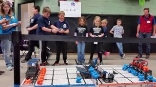 February 25, 2017 Tournament at Fall River Elementary – Qualifying Match with Fall River Elementary School's Team 10884A (HEX)
