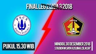 Live Streaming Final Leg 2 Liga 3 PSCS Cilacap Vs Persik Kediri, Minggu Pukul 15.30 WIB