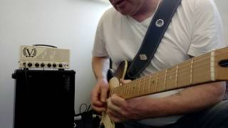 Video Improvisation with Victory Amplifiers V40H The Duchess Head&Mesa