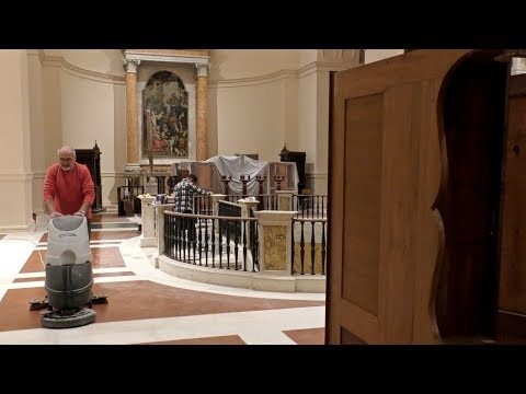 Riapre la basilica di San Venanzio a Camerino