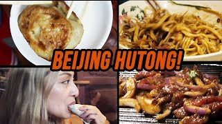 Video : China : BeiJing 北京 hutong 互通 food tour