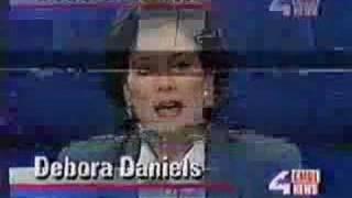 Deborah Daniels Late on Set for News