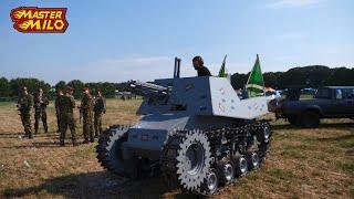 Zelfbouw tank op de Zwarte Cross! #65