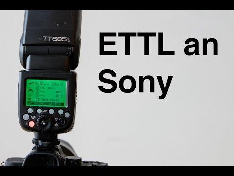 HSS und TTL an Sony Review Godox TT685S Testbericht