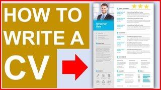 HOW TO WRITE A BRILLIANT CV! (CV Templates Included!)
