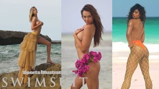 Kate Upton Gets Swept Away and Ashley Graham Twerks On Set| CANDIDS | Sports Illustrated Swimsuit