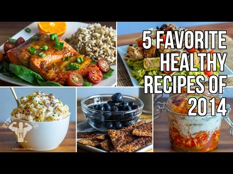 Video Top 5 Favorite Healthy Recipes of 2014 / 5 Recetas Favoritas de 2014