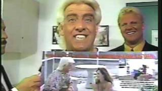 "Ric Flair's classic ""Damaged Goods"" Promo - Wrestlemania 8"