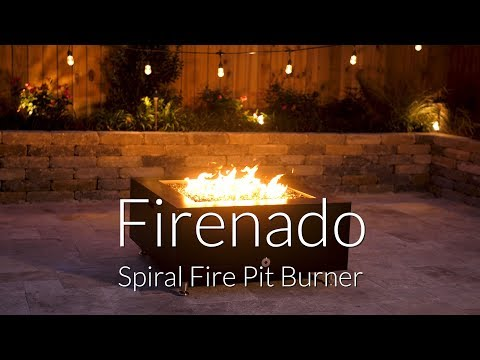Firenado Spiral Fire Pit Burner