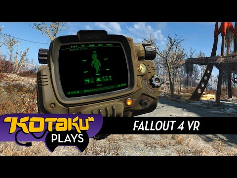 Fallout 4 VR Could Really Use A Hand (Or Two)