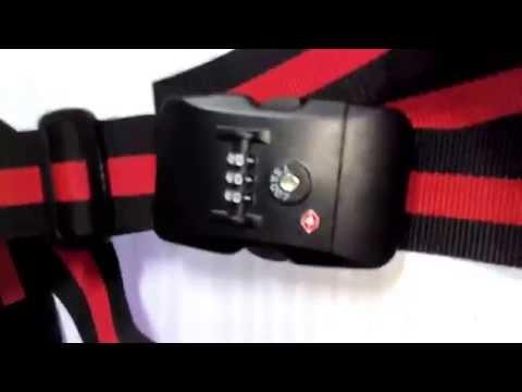 Tinxi TSA   Candado para maleta, Candado para maletas con cinta ajustable ideal para todo tipo de ma