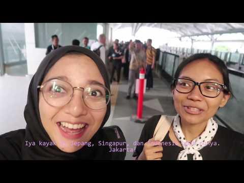 Nyobain MRT Jakarta yang hampir jadi dong ! - vlog