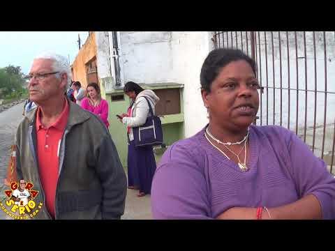 Dona Maria das Dores diz : O povo não pode ter medo de falar não sobre a Fila da Agunia