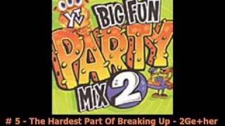 The Hardest Part Of Breaking Up - 2Ge+her _ # 5 - Big Fun Party mix 2