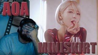 AOA - MINISKIRT(짧은 치마) MV REACTION!!! | i'm suing choa #TakeMeBack