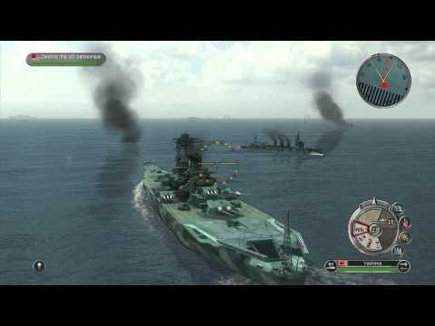 Battlestations Pacific Cruiser And Super Yamato Dlc Battleship Gameplay World Of Warships
